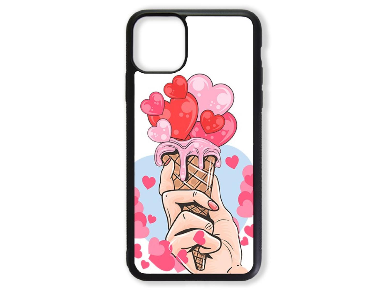 Чехол для Iphone 11 Pro Max Мороженое из сердец