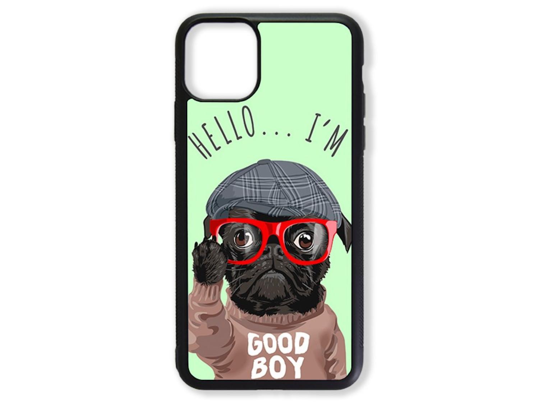 Чехол для Iphone 11 Pro Max Hello от мопса