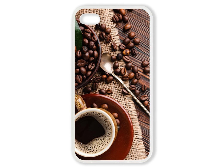Чехол для Iphone 4 Кофе