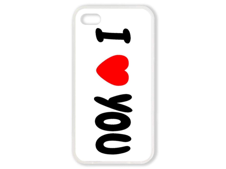 Чехол для Iphone 4S Я люблю тебя