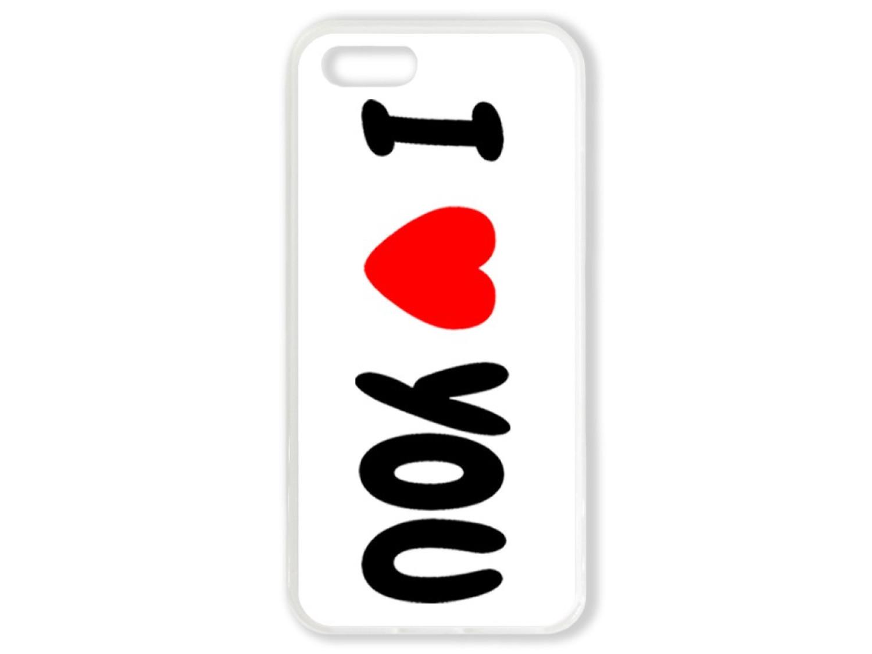 Чехол для Iphone 5 Я люблю тебя