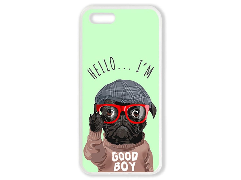Чехол для Iphone 5 Hello от мопса