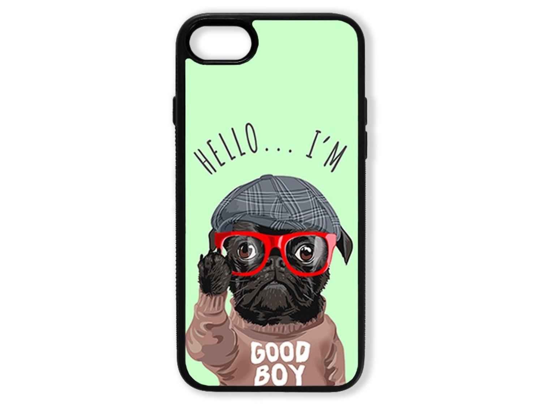 Чехол для Iphone 8 Hello от мопса