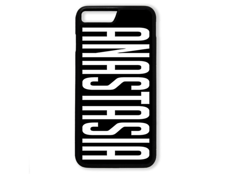 Чехол для Iphone 7+ Именной (белый текст)