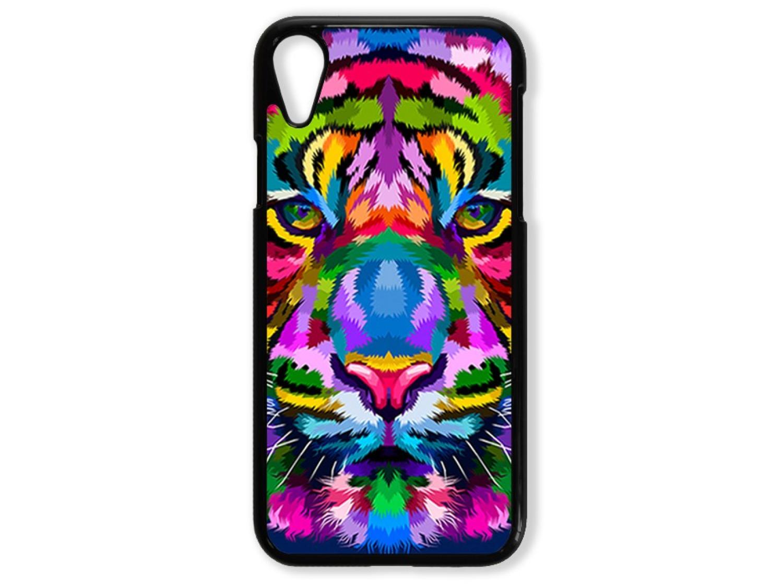 Чехол для Iphone XR Тигр цветной