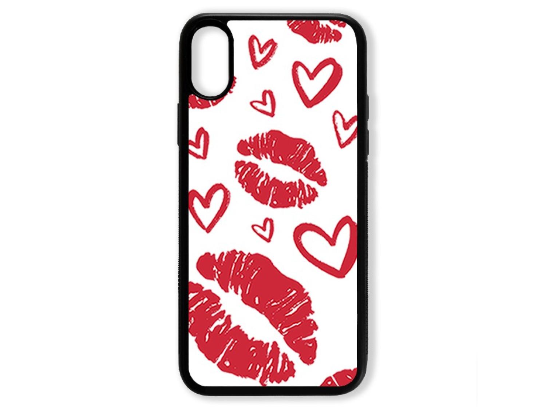 Чехол для Iphone X Поцелуи