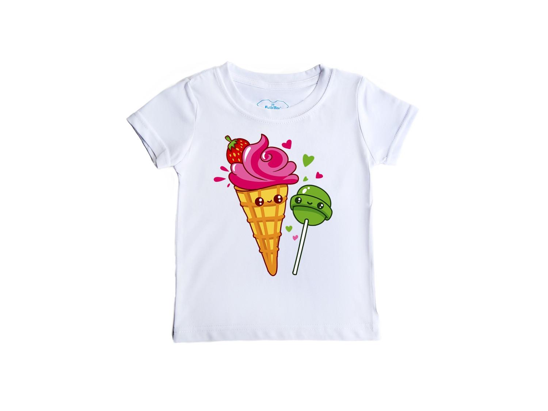Детская футболка Сладости