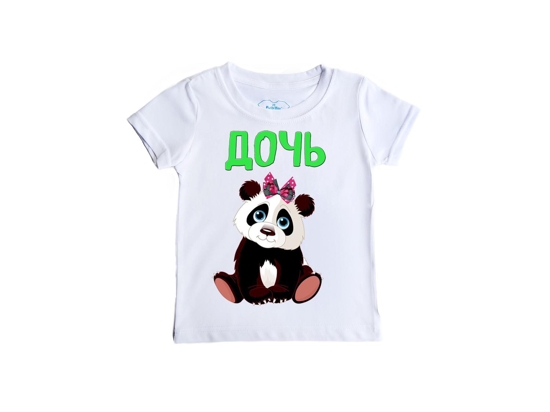 Футболка Дочь (панда)