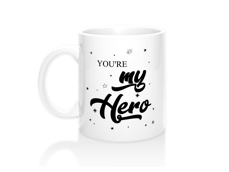 Кружка You are my hero