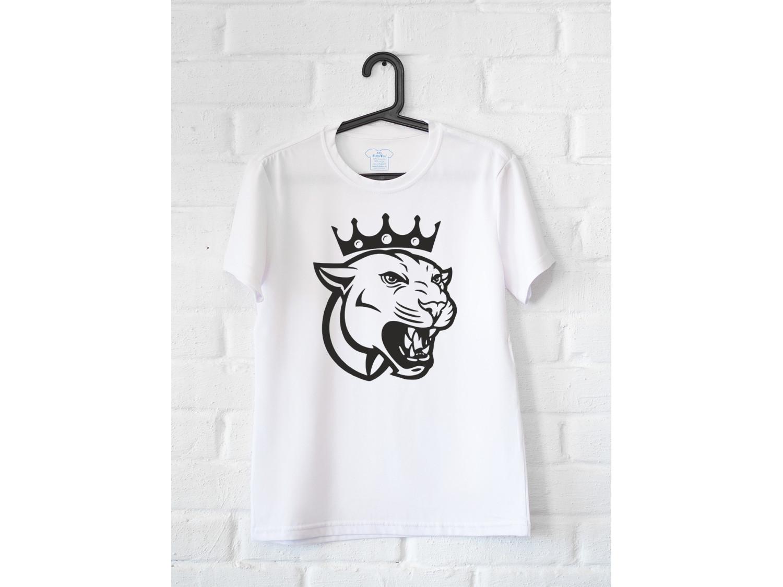 Женская футболка Львица