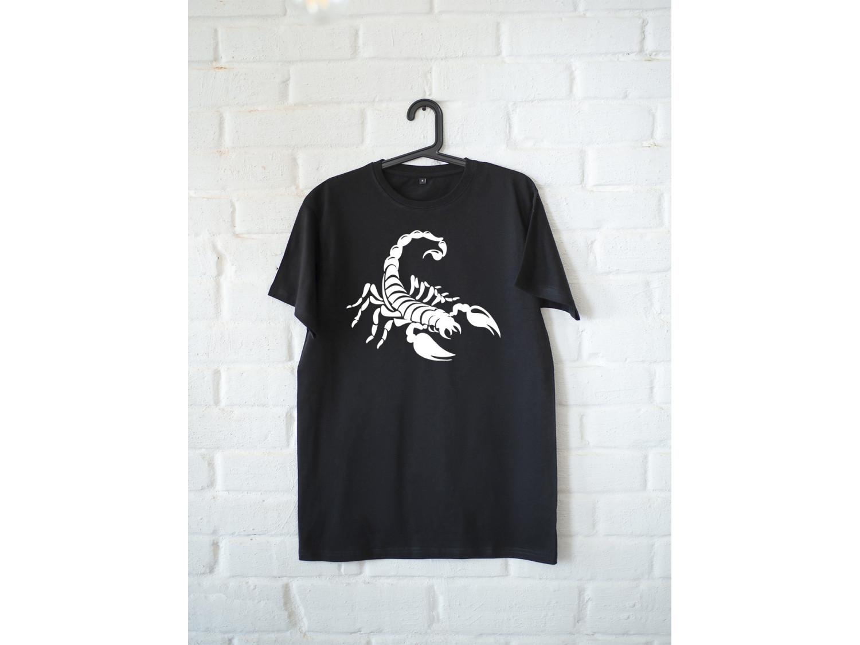 Женская футболка премиум Скорпион