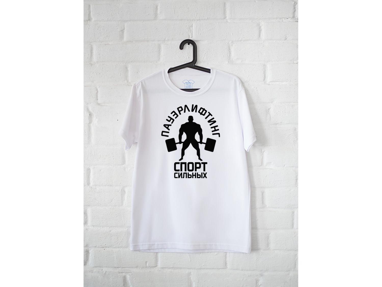 Мужская футболка Пауэрлифтинг-спорт сильных