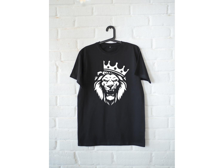 Мужская футболка премиум Лев