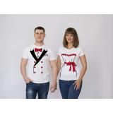 Парные футболки Свадьба 1