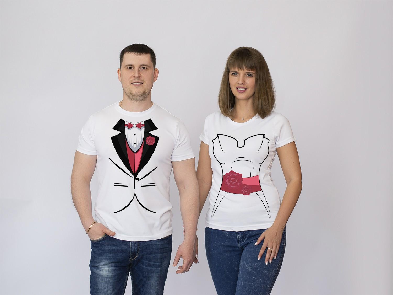 Парные футболки Свадьба 2