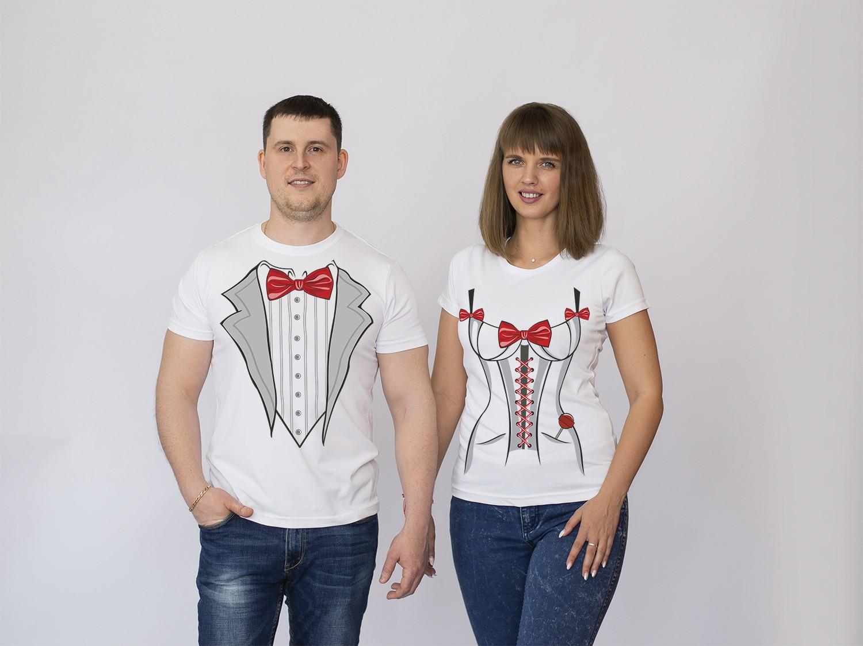 Парные футболки Свадьба 3
